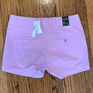Brand New J.Crew Lavender Chino Shorts, Size 00